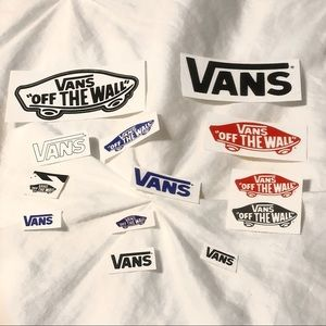 Vans stickers 13 for $8